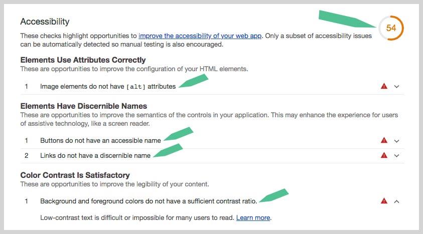 ADA-Compliance-Website Audit-Screen