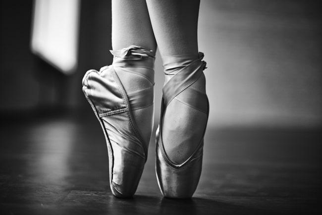 Ballet-representing-rehearshing a-speech