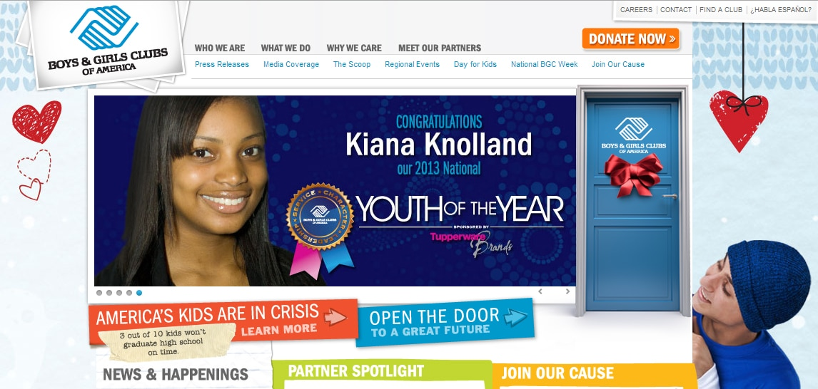 Boys and Girls Clubs of America Homepage
