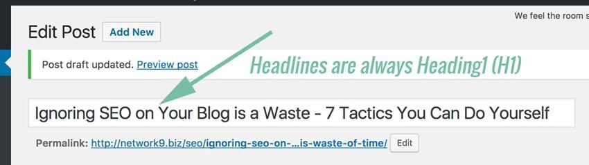 Ignoring-SEO-on-your-Blog-Headline text strategy