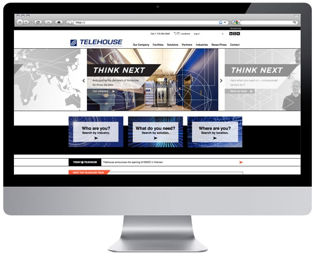 Telehouse-home-page-design