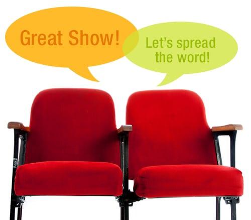 Theater-Marketing ideas concept
