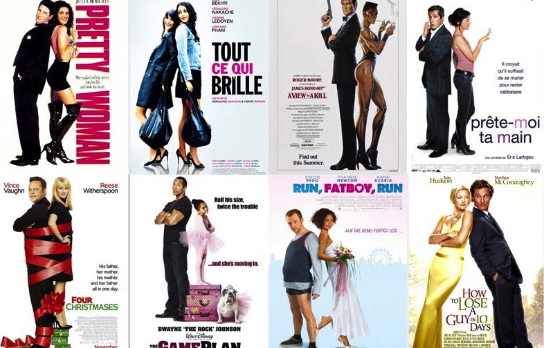 Why movie posters look the same posters for romance films