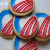 obama logo on cookies