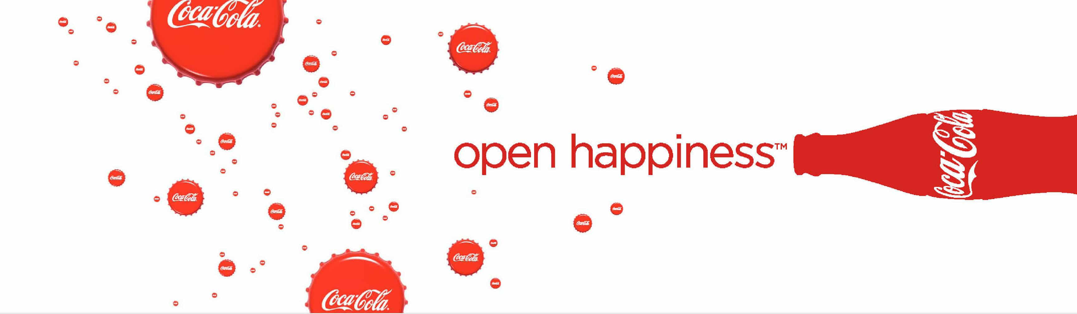 Creating A Sticky Tagline coca cola open happiness