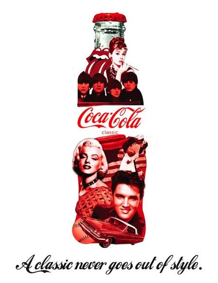 Red in Design coke bottle
