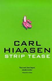 Strip Tease Book Design by Carl Hiaasen