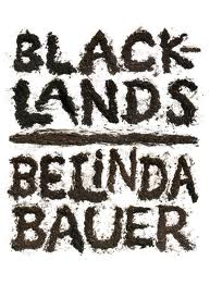 blacklands book cover design