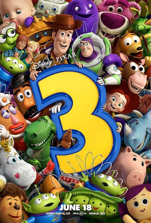 toy story three poster Movie poster that does not look the same