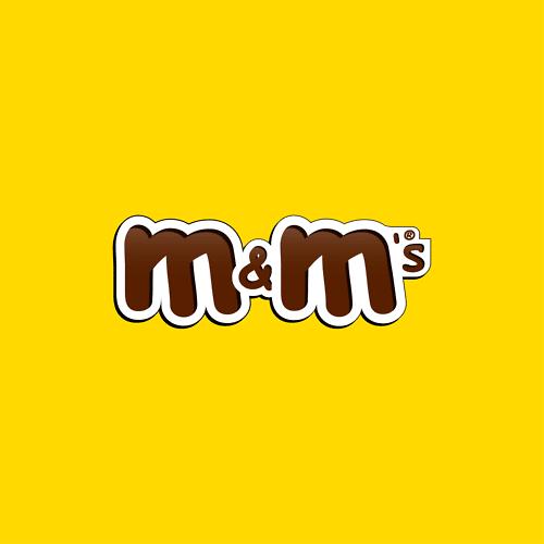 Comic Sans jokingly used on M & M logo