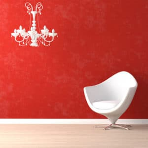 The-Color-Red-in-Design-Featured-Image-White-Chair-on-Red-Wall
