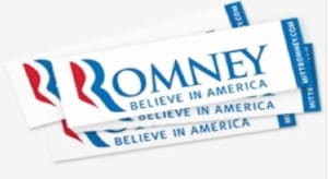 Could A Font Have Won An Election Romney logo