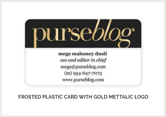 Frosted-Plastic-Card-With-Gold-Foil-Logo