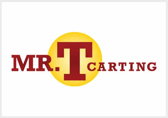 Mr-T-Carting-Logo-design