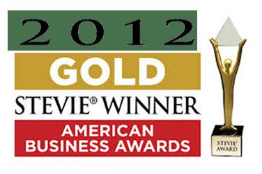 Stevie award image-2012