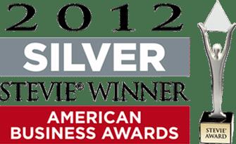 Silver Stevie Award 2012 Logo