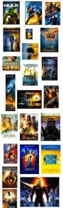 collage movie poster design 2