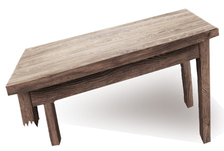 Broken-Leg-of-Table