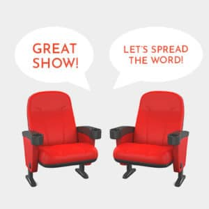Theater Marketing-Chairs-Talking
