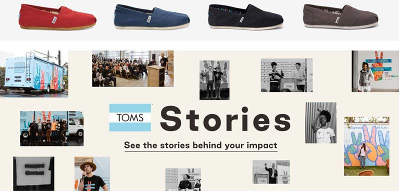 Toms-Shoes-Company Stories Page