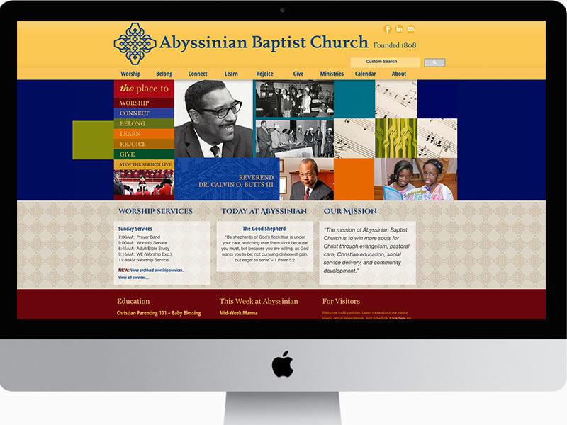 Website-Design-Abyssinian-Baptist-Church