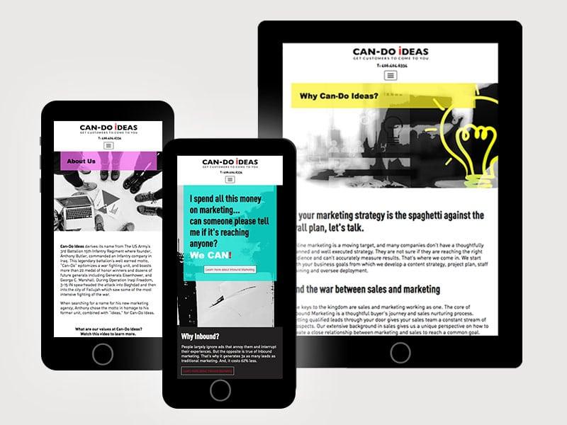Mobile Website-Design-Can-Do-Ideas