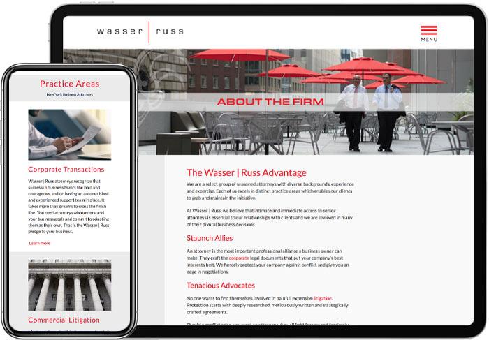 Attorney-Website-Design-on-Mobile