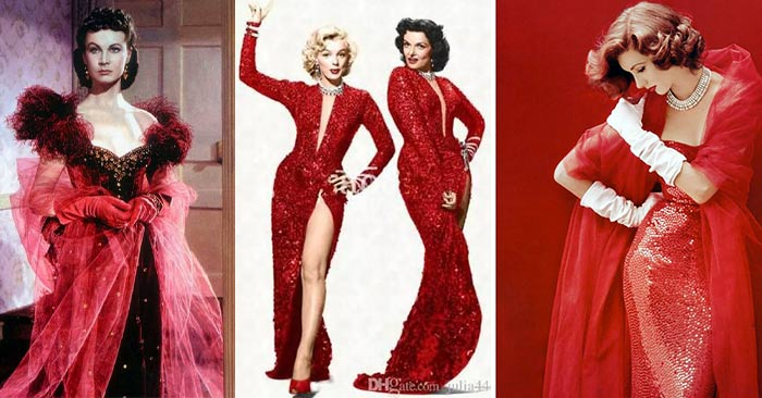 The Color Red-in-Hollywood-Fashion