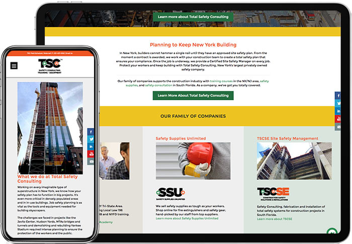 TSC-home-Page-on-Mobile