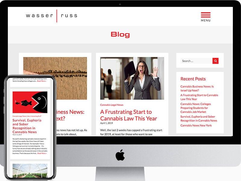 Website-Blog-Design-Wasser-Russ-Attorneys