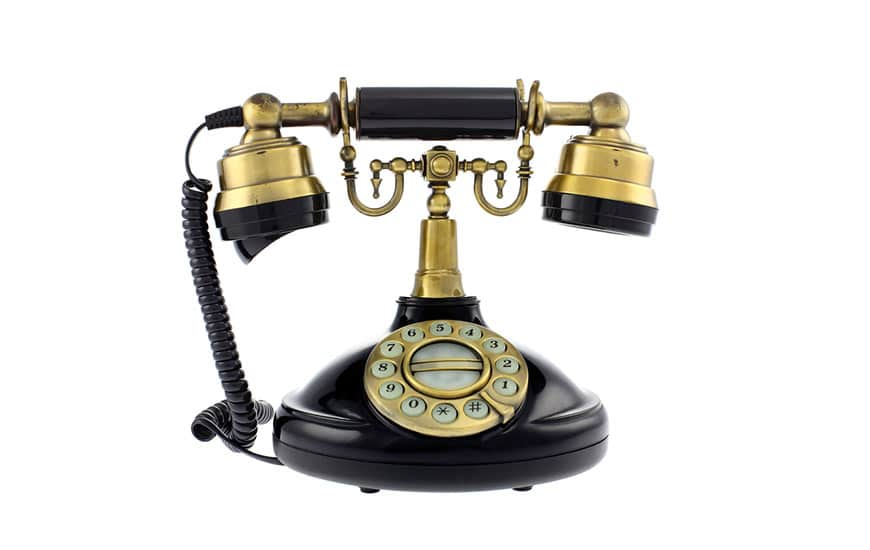 Vintage-Phone Showing Why a Rebrand is Needed