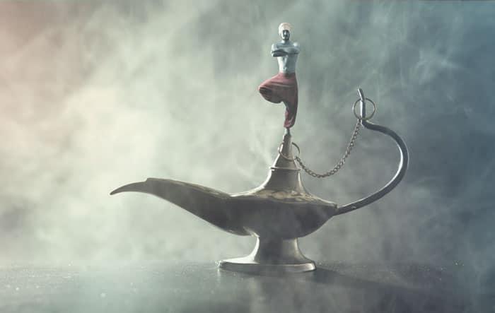 Investor-Pitch-Deck-Creating-Magic-Genie-in-Lamp