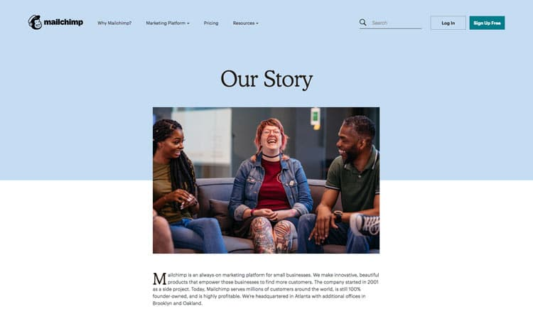 Mail-Chimp-About-Us-page-Design