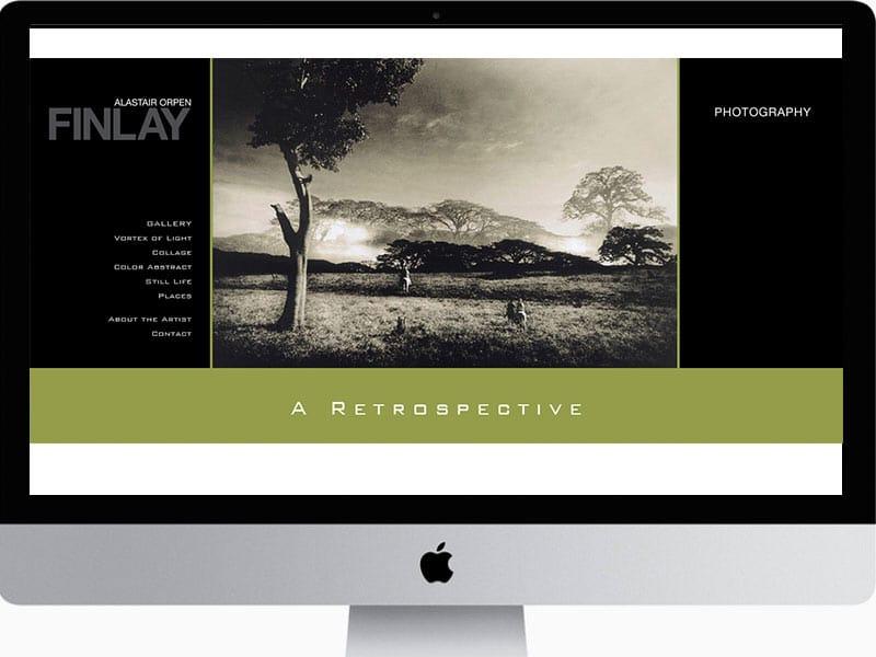 Photographer-Website design