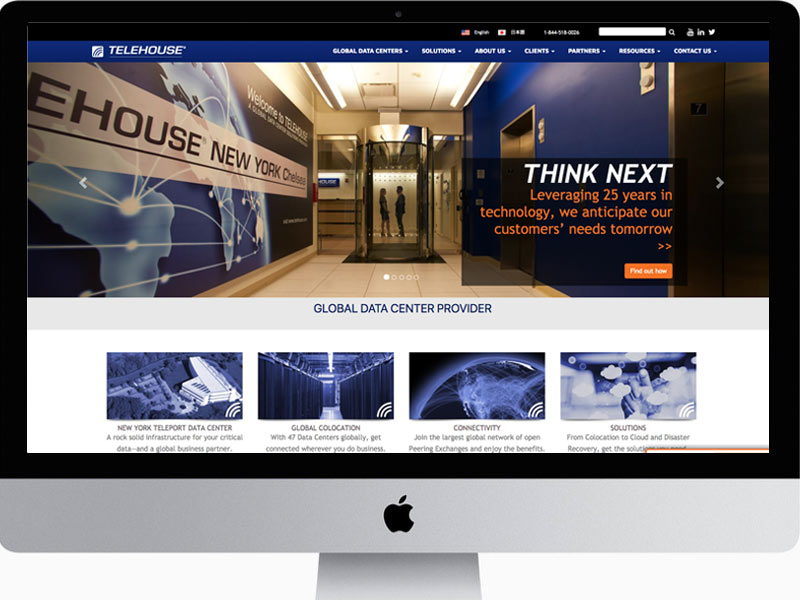 Telehouse-Website-Design-Home-page
