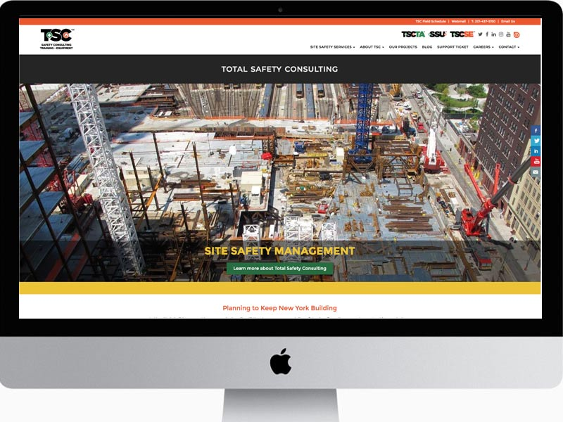 Total-Safety-Consultants-Website-Design and Rebranding