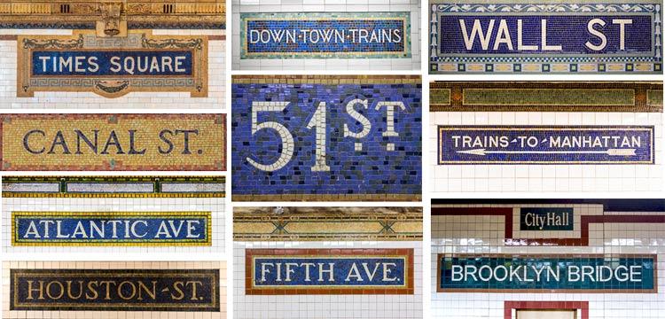 NYC-Mosaic-Subway-Signs