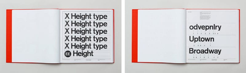Brand-Standards page-for-New-York-City-Subway-by-Vignelli