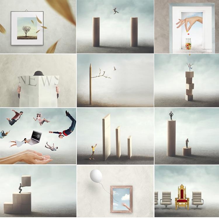 Rebranding Network9 Website Images Collage