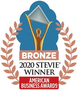 Network9 Bronze Medal Stevie Award 2020 for Achievement in Website Design