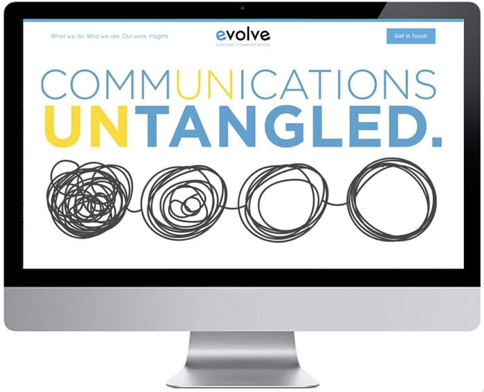 Evolve-Communications-Website-Design
