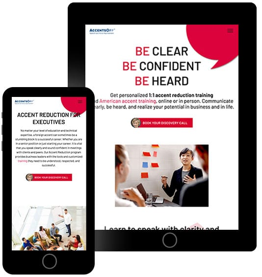 AccentsOff-Web-Design-Home-Page-on-Mobile